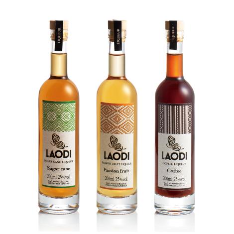 LAODI liqueur package design