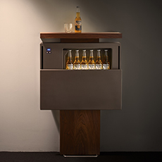 超薄型冷蔵庫 refrigerator 厚さ 奥行き depth 130mm 13cm
