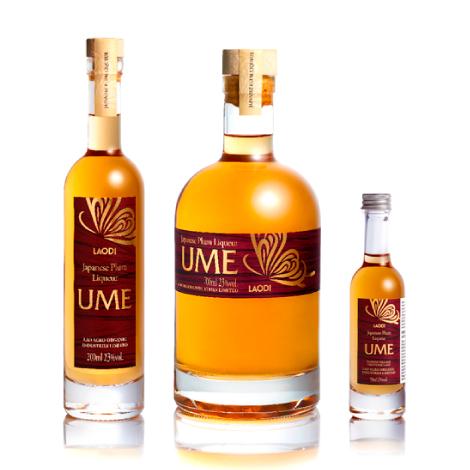 LAODI UME liquor package design